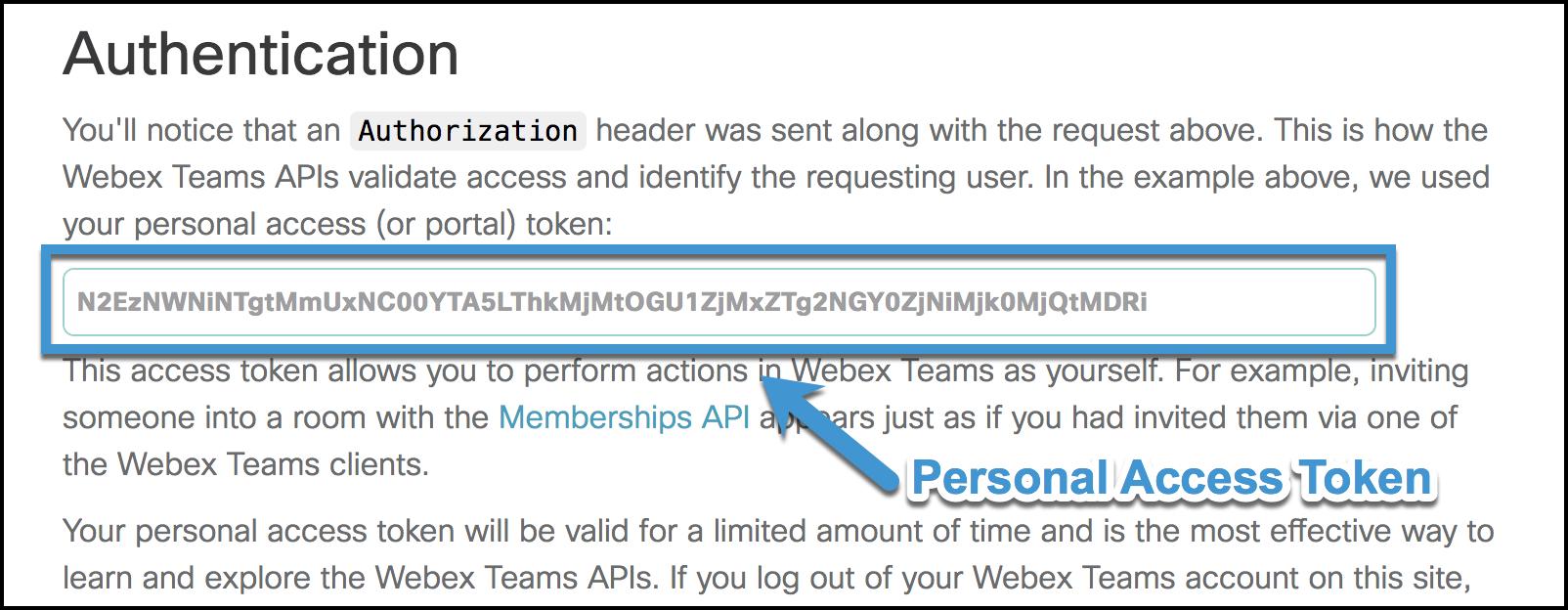 Quickstart — webexteamssdk 1 1 1 post24 dev0+g0a13466 documentation
